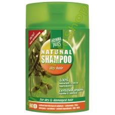 Sampon organic par uscat / degradat Hennaplus