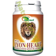 Lion Heart 100 tablete - Cardioprotector